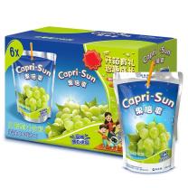 果倍爽 Capri-Sun 白葡萄汁饮料200ml*6包/盒 3盒/箱