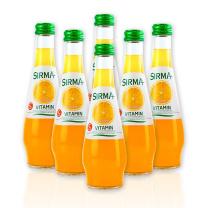 土耳其进口地中海榭漫气泡果汁汽水(橙子味) 250ml*24/箱