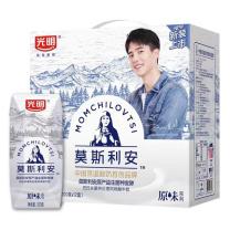 光明 莫斯利安 巴氏杀菌酸牛奶 200g/瓶 12瓶/箱(GD)  新老包装随机发货
