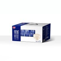 光明 优+纯牛奶 250ml/盒  12盒/箱 (外箱:280*155*145mm 毛重:6kg)