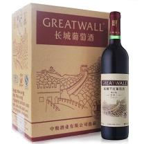 长城 GREAT WALL 特酿3年解百纳干红葡萄酒 750ml*6瓶