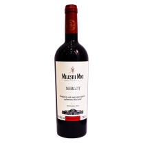 米茨 摩尔多瓦原瓶进口红酒 2015米茨古堡梅洛半干红葡萄酒 750ml/瓶