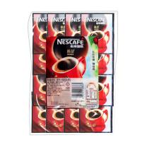 雀巢 Nestle 醇品100%纯咖啡 1.8g/包,100包/袋  10袋/箱