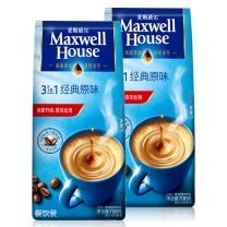 麦斯威尔 Maxwell House 原味咖啡三合一速溶咖啡粉 700g/袋,18袋/箱