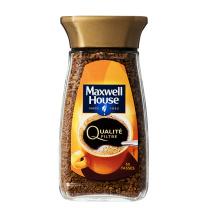 麦斯威尔 Maxwell House 速溶香醇金咖啡 黑咖啡 100g/瓶,12瓶/箱