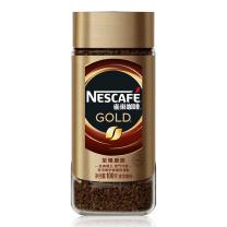 雀巢 Nestle 速溶咖啡 100g/瓶  12瓶/箱 (法式烘焙精选)(金色瓶12瓶/箱)