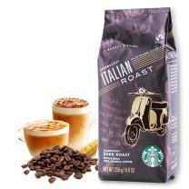 星巴克 咖啡豆 250g 深度烘培