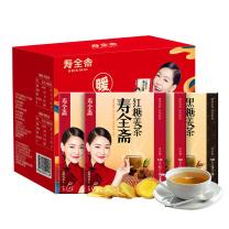 寿全斋 红糖+黑糖姜茶礼盒装 480g