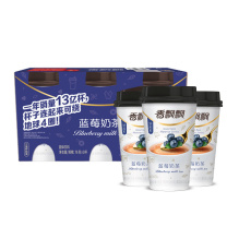 香飘飘 蓝莓味奶茶三连杯 76g*3杯