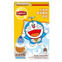 立顿 Lipton 经典醇香浓原味奶茶 17.5g/包 10包/盒 24盒/箱  (OD)