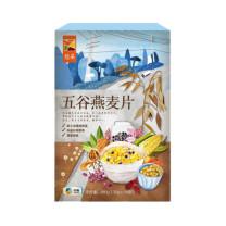 中粮 COFCO 悠采 五谷燕麦片 澳洲高纤皮燕麦5种谷物烘焙燕麦 480g