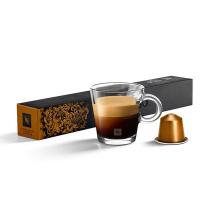 NESPRESSO 胶囊咖啡机胶囊  10粒/盒 (莉梵朵咖啡)(适用机型 雀巢Nespresso胶囊咖啡机N10、雀巢c101胶囊咖啡机、雀巢c60家用胶囊咖啡机、雀巢c110胶囊咖啡机 20盒/箱)