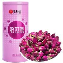 艺福堂 玫瑰花茶 80g/罐 24罐/箱