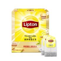 立顿 Lipton 黄牌精选红茶 2g/包100包/盒  100包/盒 12盒/箱