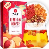 艺福堂 桂圆红枣枸杞茶 320g/盒 13盒/箱