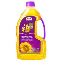 福临门 压榨一级葵花籽油 1.8L/桶 6桶/箱  (非转基因)