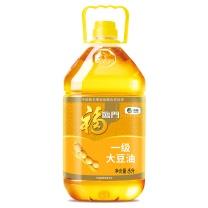 福临门 一级大豆油 5L/桶 4桶/箱  (转基因)