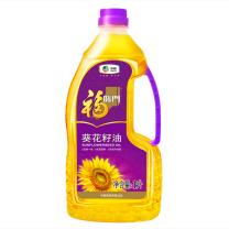 福临门 压榨一级葵花籽油 1L 12瓶/箱
