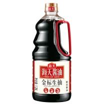 海天 金标生抽 1.28L/瓶,6瓶/箱