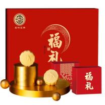 徐福记 呈味福礼月饼 400g (红色)