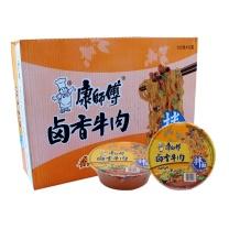 康师傅 Master Kong 干拌面卤香牛肉味  12碗/箱