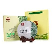 大益(TAETEA) 普洱茶生茶茶叶普知味 357g  (3年陈料)
