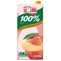 汇源 桃汁 1L/盒  12盒/箱