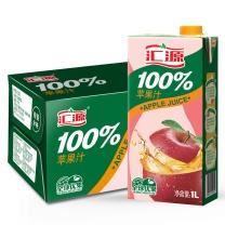 汇源 苹果汁 1L/盒  12盒/箱