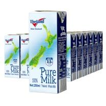 纽仕兰 3.5g蛋白质全脂纯牛奶 250ml*24盒/箱