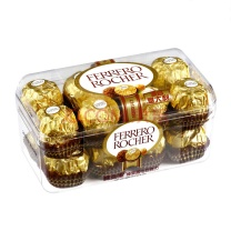 费列罗 榛果威化巧克力结婚喜糖巧克力整盒 200g T16粒
