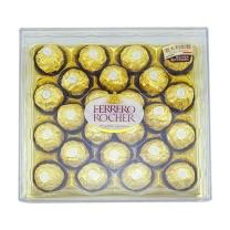 费列罗 金莎 榛果威化巧克力 婚庆喜糖散装零食 300g T24粒