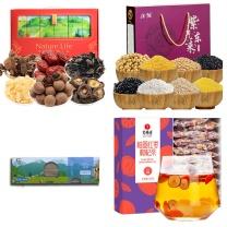 节日慰问-晨光300元礼包组合三  面条*3盒、干货*1盒、杂粮礼盒*1盒、红枣枸杞茶*1盒