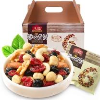 沃隆 沃隆每日坚果A成人款 25g/包 30包/箱  (扁桃仁、腰果、核桃仁、蔓越莓干、蓝莓干、榛子仁)