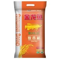 金龙鱼 软香稻大米 5kg/袋 4袋/箱