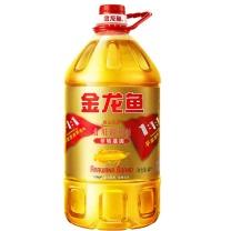 金龙鱼 金龙鱼 黄金比例食用调和油非转基因 4L/桶 4桶/箱