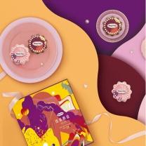 哈根达斯 Haagen-Daze 玲珑心意食品(山西) 340g  香草、 仲夏野莓、比利时巧克力。冷冻8个月