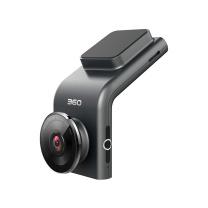 360行车记录仪 迷你隐藏 高清夜视 无线测速 黑灰色 G300