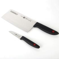 双立人 Zwilling 刀具两件套 ZW-K26  蔬菜刀 中片刀