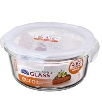 乐扣乐扣 LOCK&LOCK 圆形玻璃保鲜盒 LLG861 950ml