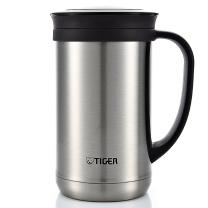 虎牌 TIGER 不锈钢保温杯泡茶杯办公杯 CWM-A050-XC 401-500ml (不锈钢色)