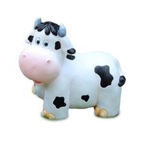 心向静 摆件树脂工艺 奶牛一家 (白色)