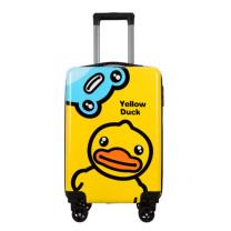 迪利猫 卡通时尚拉杆箱 0001 20寸(36*55*24cm) (黄色 粉色 绿色 银色(随机)) 材 质:ABS+PC 20寸(36*55*24cm)