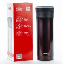 膳魔师 不锈钢真空保温杯 TCMK-500-CBW 500ml (咖啡色)