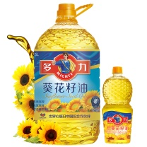 多力 多利葵花籽油 5L+250ml/组  4组/箱