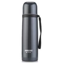 哈尔斯 不锈钢吊带保温杯 LB-500F-6 500ml (黑灰色) (不含厦门市)