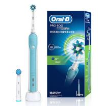 欧乐B Oralb 充电式电动牙刷 D16.523U 11*5.5*25.2 (蓝色)