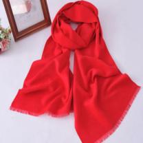 杰英仕 围巾 300g (红色)
