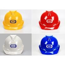 定制V型透气安全帽进口ABS材质  【中远洋链接】