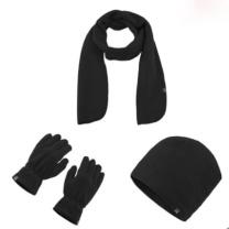 哥仑步 帽子围巾手套三件套