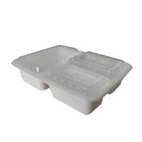 国产 一次性餐盒3格 150/箱  150个/箱